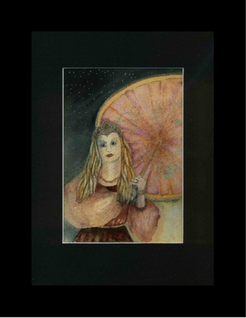 Tiny Dancer 11- Starlight Dancer with Umbrella