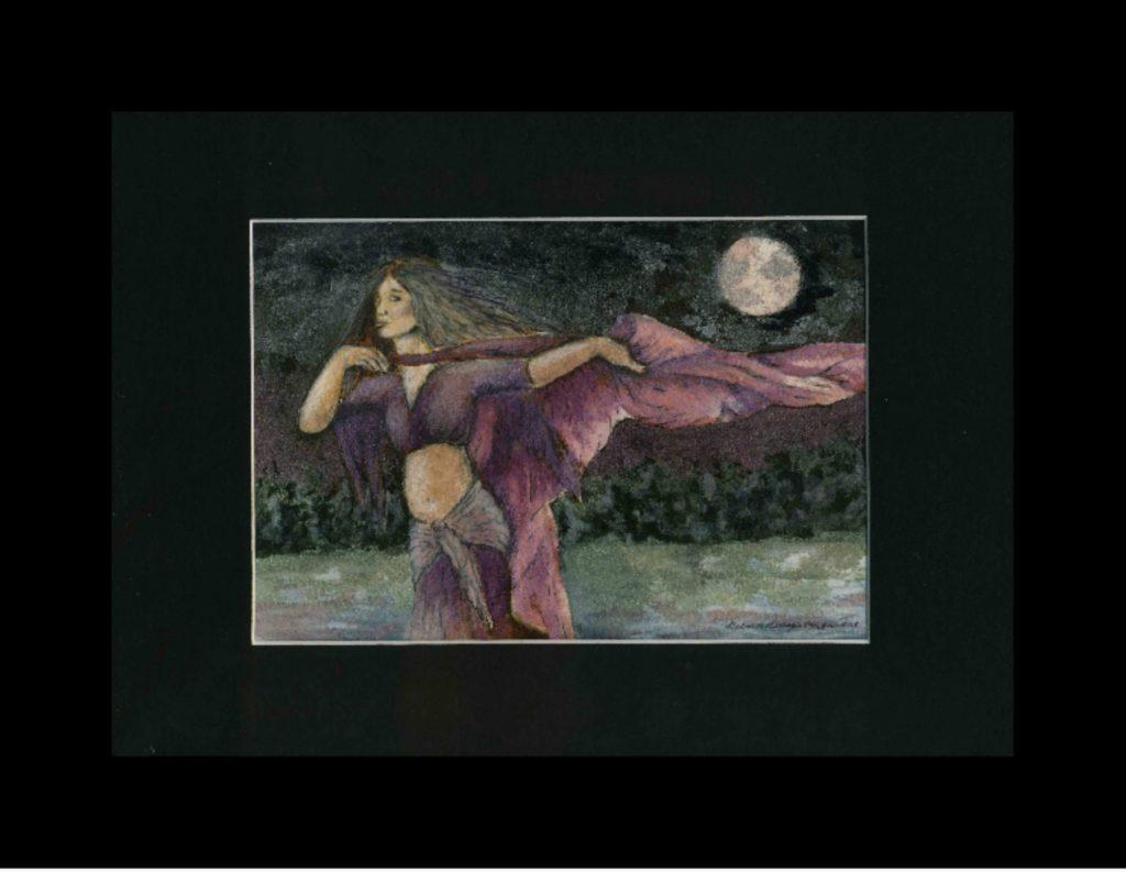 Tiny Dancer 9- Dancer with Purple Veil
