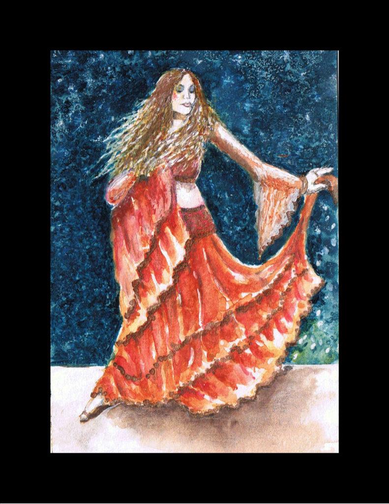 Flamenco Dancer, TIny Dancer Series